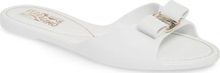 Salvatore Ferragamo Cirella Bow Slide Sandal