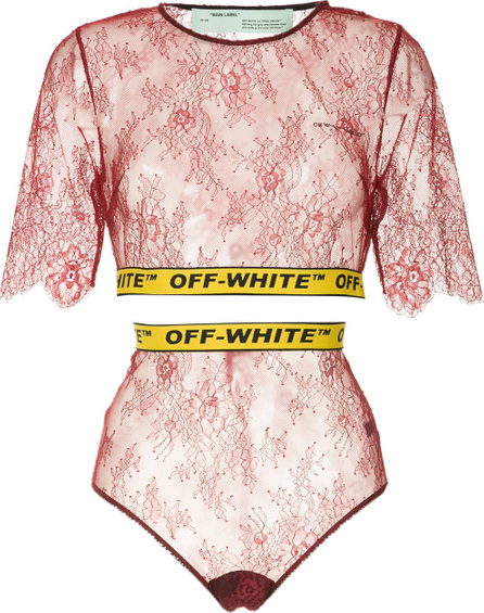 Off White Two-piece lace set