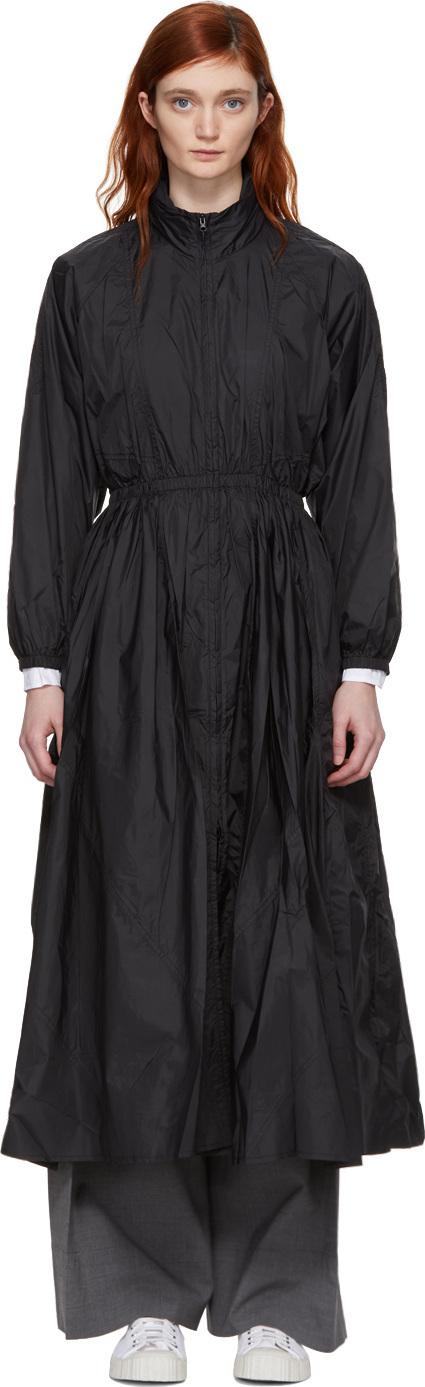 Opening Ceremony Black Maxi Anorak Dress Coat