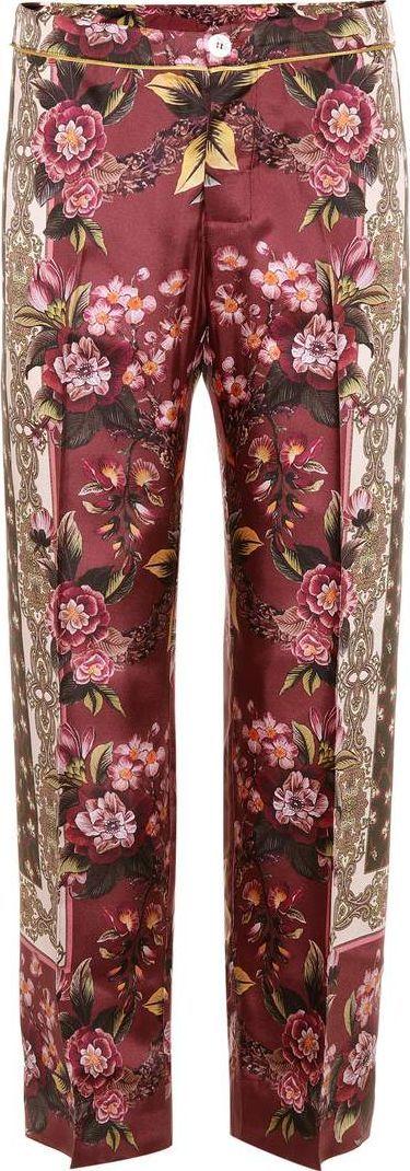 For Restless Sleepers Crono silk velvet trousers