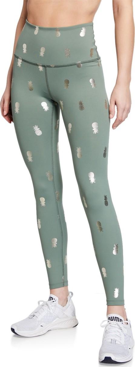 Beyond Yoga Pineapple High-Waist Midi Leggings