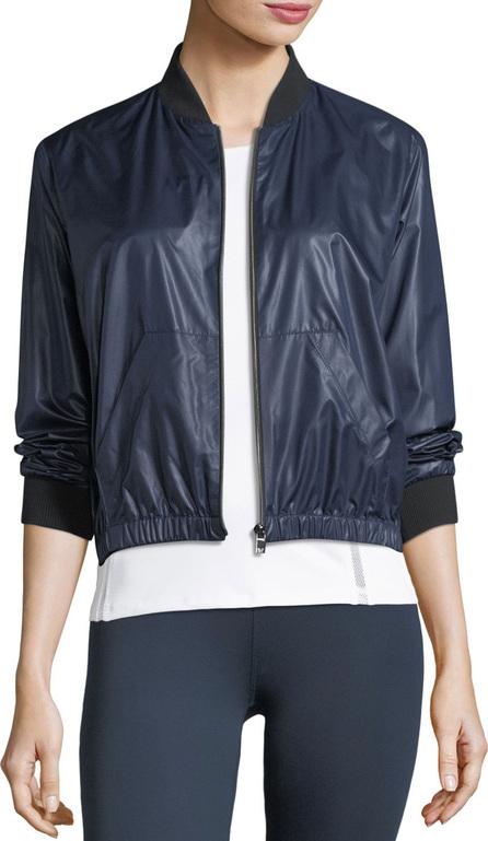 Heroine Sport Wind-Resistant Zip-Front Bomber Jacket