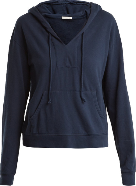 SKIN Simone hooded cotton sweatshirt