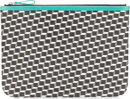 Pierre Hardy Geometric patterned clutch bag