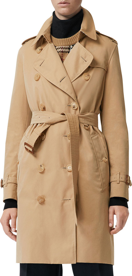 Burberry London England Kensington Belted Trench Coat