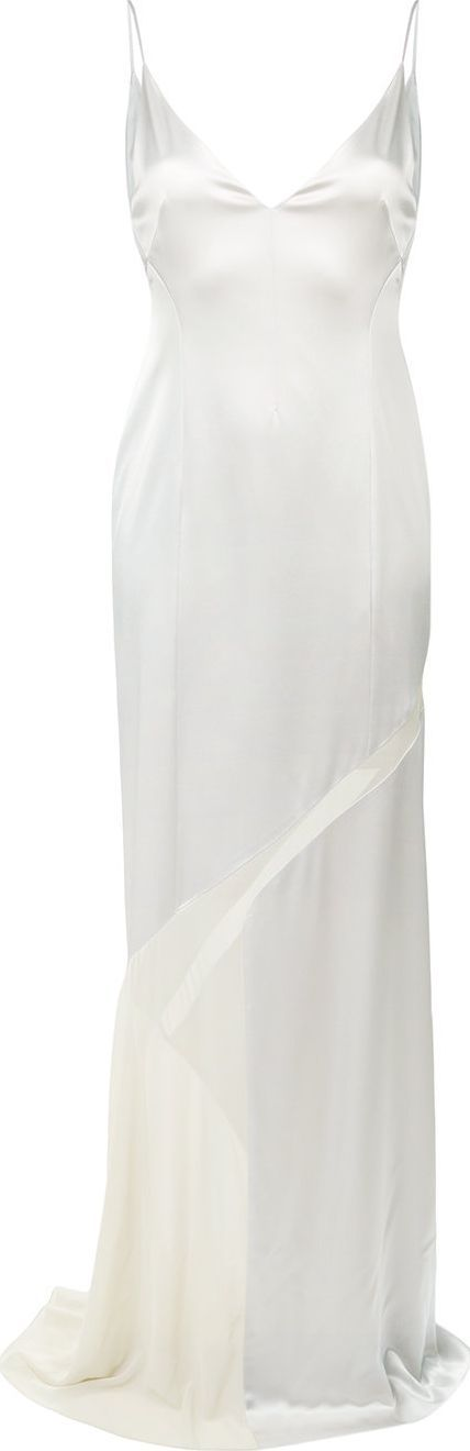 Galvan Salinas V-neck dress