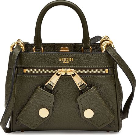 Moschino Mini Leather Shoulder Bag