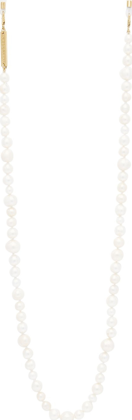 Frame Chain Pearly Queen pearl and gold-plated glasses chain