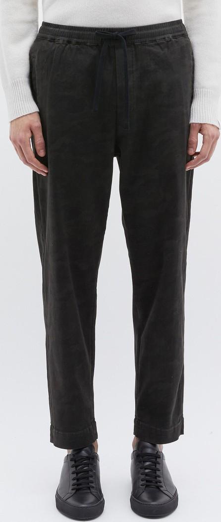 Denham 'Carlton' abstract camouflage print drop crotch jogging pants