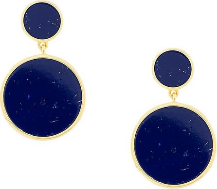 Eshvi Circular drop earrings