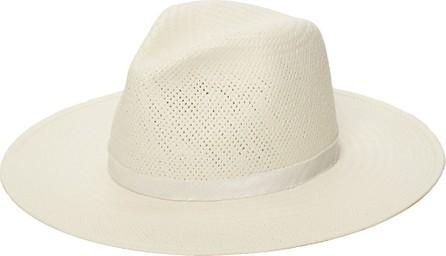 Janessa Leone Aimee Packable Straw Fedora Hat