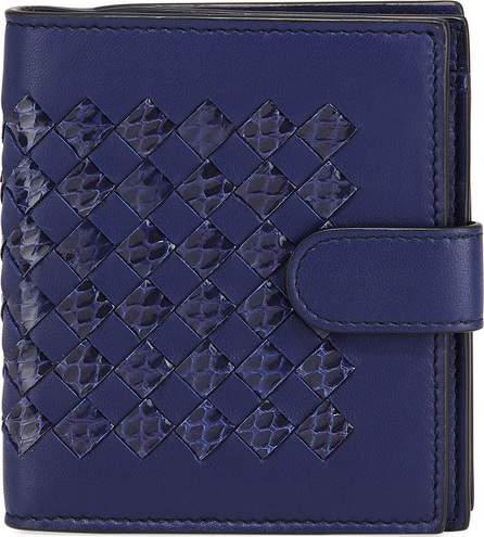 Bottega Veneta Ayers Tab Bi-Fold Wallet