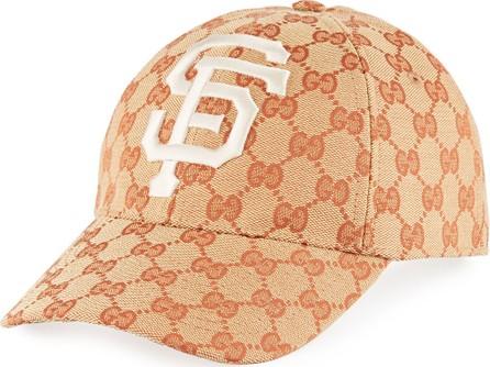 e734eff945df4 Gucci SF Giants GG Supreme Baseball Hat