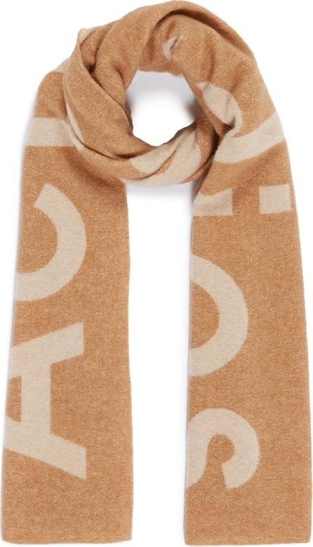 Acne Studios 'Toronty' logo jacquard wool blend scarf
