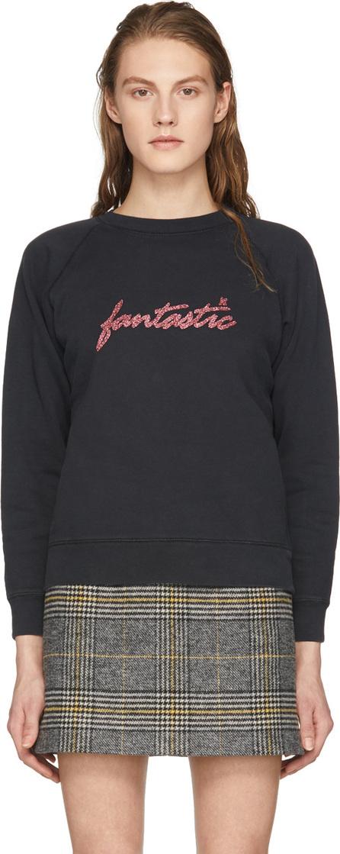 Alexachung Black 'Fantastic' Sweatshirt