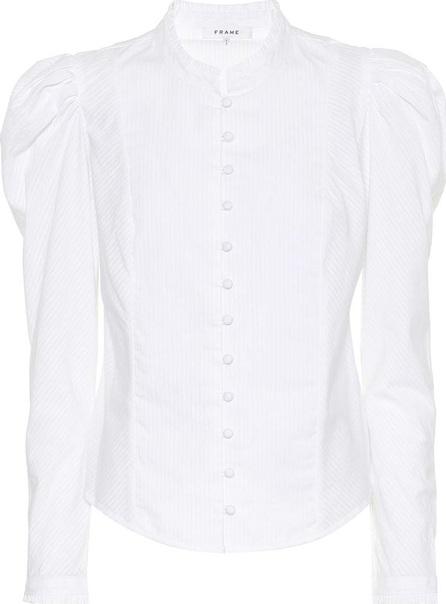 FRAME DENIM Victorian striped cotton shirt