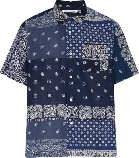 Children Of Discordance Floral and paisley printed cotton shirt