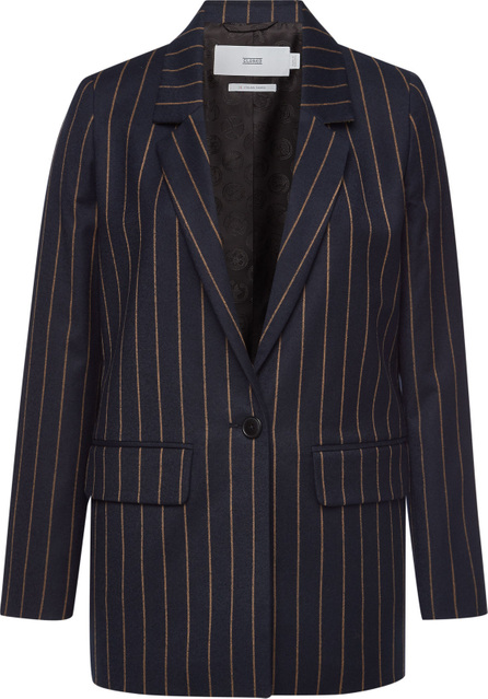 Closed Cox Striped Blazer with Virgin Wool