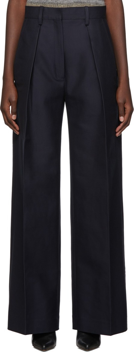 Jacquemus Navy 'Le Pantalon Carini' Trousers