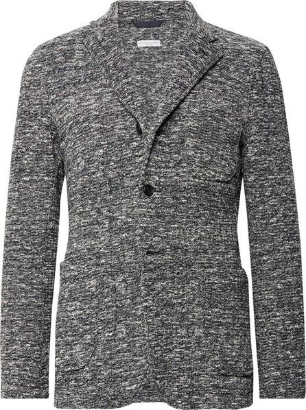 Engineered Garments Storm-Blue Unstructured Mélange Cotton-Blend Blazer