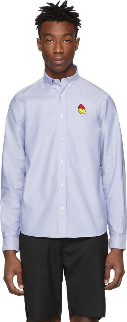 AMI Blue Smiley Edition Oxford Shirt