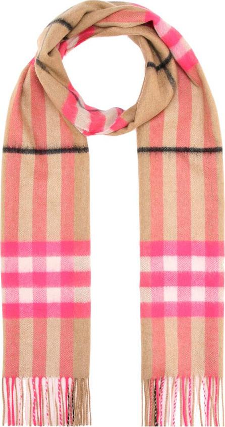 Burberry London England Check cashmere scarf