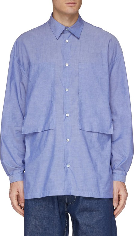 E. Tautz 'Lineman' chest pocket boxy shirt