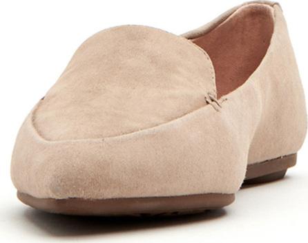 Taryn Rose Faye Suede Flat Loafers
