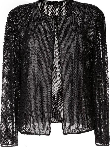 Jenny Packham Woven knit cardigan