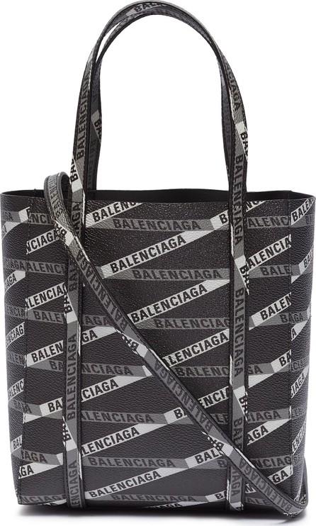 Balenciaga 'Everyday XXS' monogram logo print coated canvas tote
