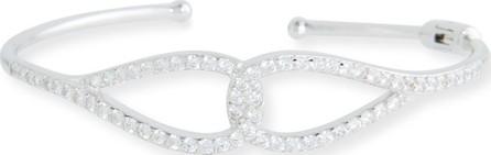 Fantasia by DeSerio Infinity Cubic Zirconia Cuff Bracelet
