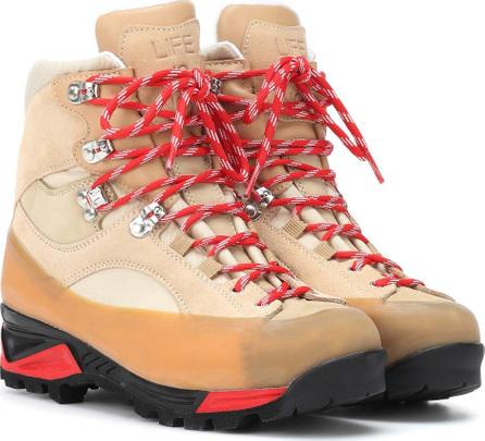 Ganni Sarai suede ankle boots