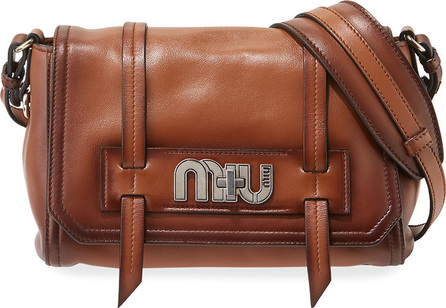 Miu Miu Burnished Grace Lux Crossbody Bag