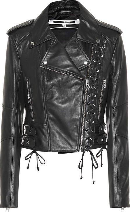 McQ - Alexander McQueen Leather biker jacket