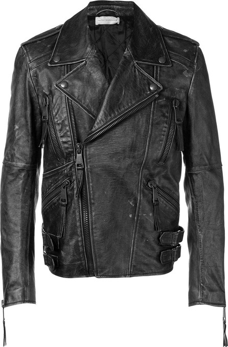 Faith Connexion Vintage style biker jacket
