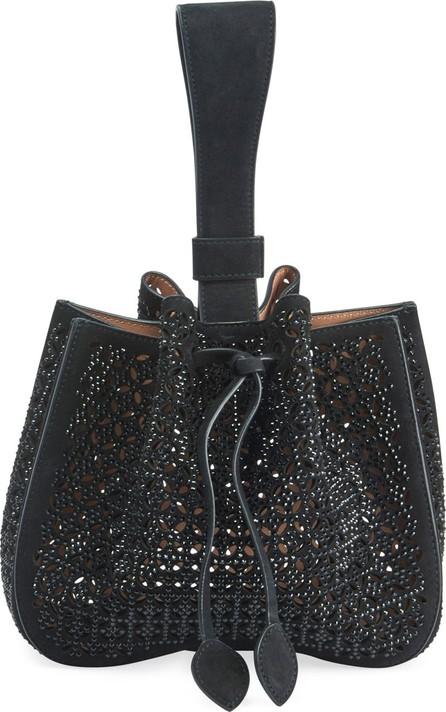 Alaïa Rose Marie Wristlet Small Bucket Bag