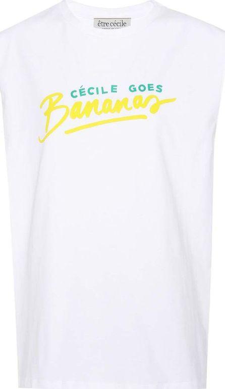Etre Cecile Banana cotton T-shirt
