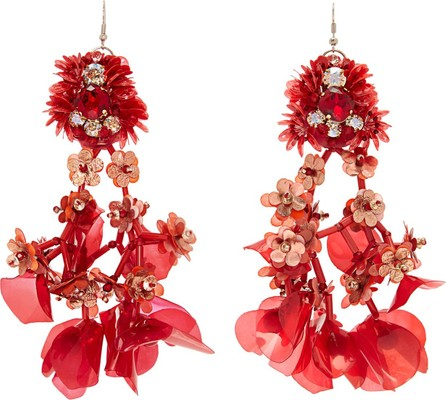 Biyan Tatia flower-beaded earrings