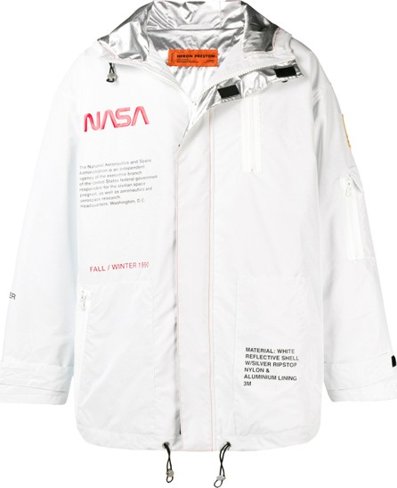 Heron Preston Heron Preston x NASA hooded tech parka