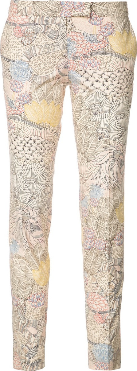 Barbara Bui embroidered skinny trousers