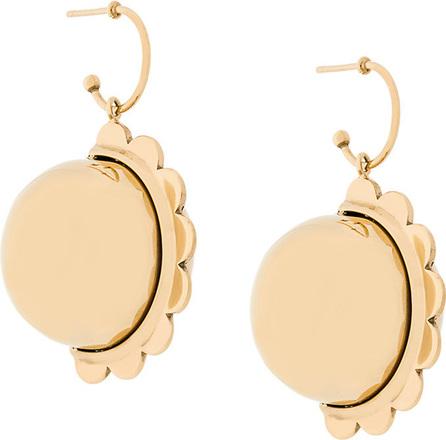 Simone Rocha Circular charm earrings