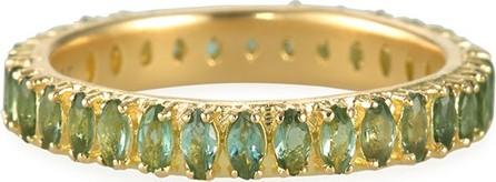 Armenta Sueno 18k Blue/Green Tourmaline Ring  Size 6.5