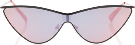 Adam Selman X Le Specs The Fugitive Acetate Cat-Eye Sunglasses