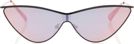 Adam Selman X Le Specs The Fugitive Acetate Cat-Eye Sunglasses