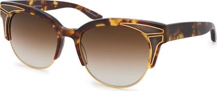 Barton Perreira Fortuna Semi-Rimless Cat-Eye Sunglasses