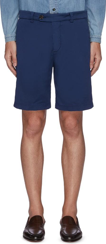 Brunello Cucinelli Stretch cotton blend chino shorts