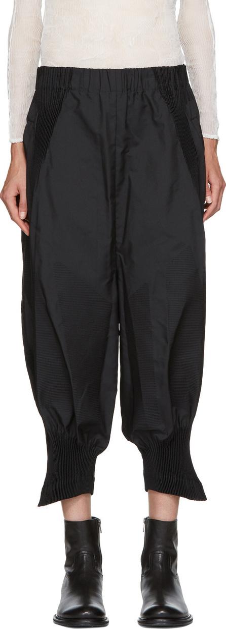 Issey Miyake Black Sunset Bouffant Trousers