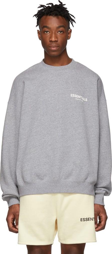 Essentials Grey Pullover Crewneck Sweatshirt