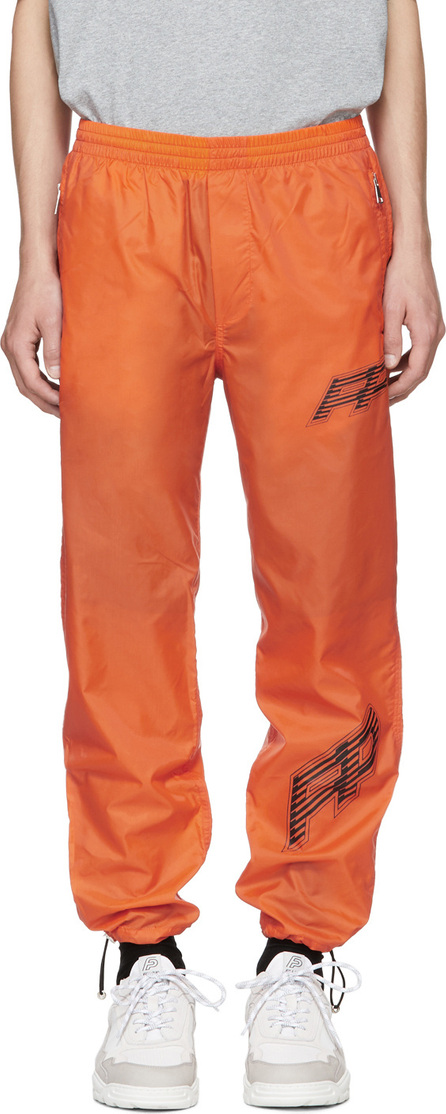 Filling Pieces Orange Nylon Cord Lounge Pants