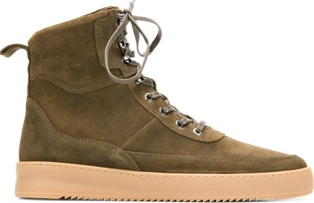 Filling Pieces Lace-up ankle boots